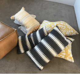 Pillows are at the heart of staging
