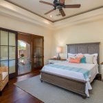 Casita Bedroom at Whisper Rock Luxury Home For Sale