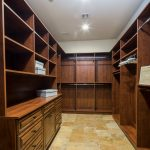 Master closet - his Whisper Rock Luxury Home For Sale