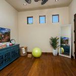 Exercise flex room Whisper Rock Luxury Home For Sale