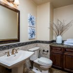 Powder room Whisper Rock Luxury Home For Sale