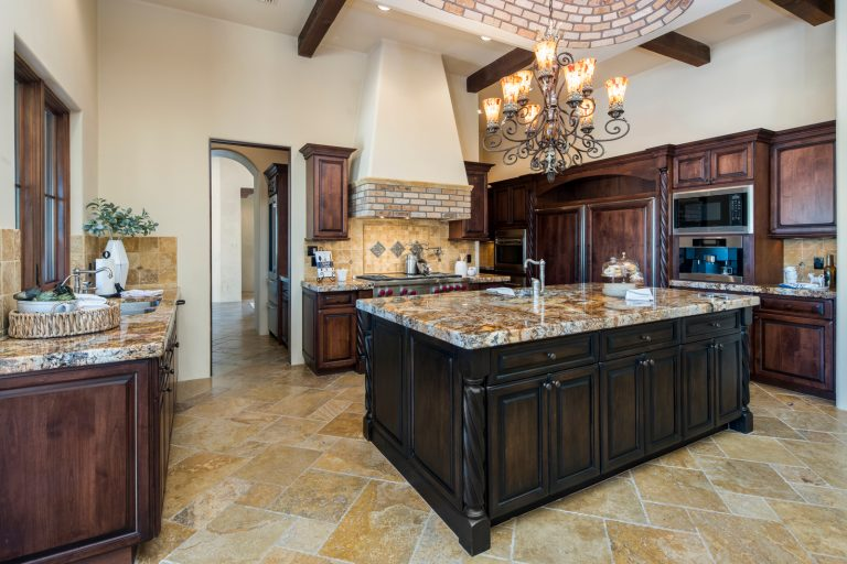 Kitchen View - Whisper Rock Luxury Estates Home For Sale