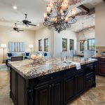 Kitchen Island - Whisper Rock Luxury Home For Sale