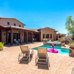 Daytime at the pool - Whisper Rock Luxury Home For Sale