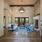 Living Room at Whisper Rock Luxury Home For Sale