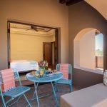 Casita porch at Whisper Rock Luxury Home For Sale