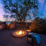 Backyard of Whisper Rock Luxury Home For Sale