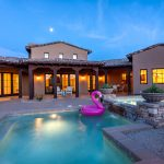 Pool At Whisper Rock Luxury Home For Sale