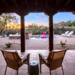View of pool at Whisper Rock Luxury Home For Sale