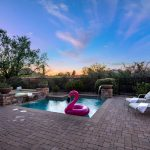Poolside at Whisper Rock Luxury Home For Sale
