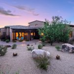 Side view Whisper Rock Luxury Home For Sale