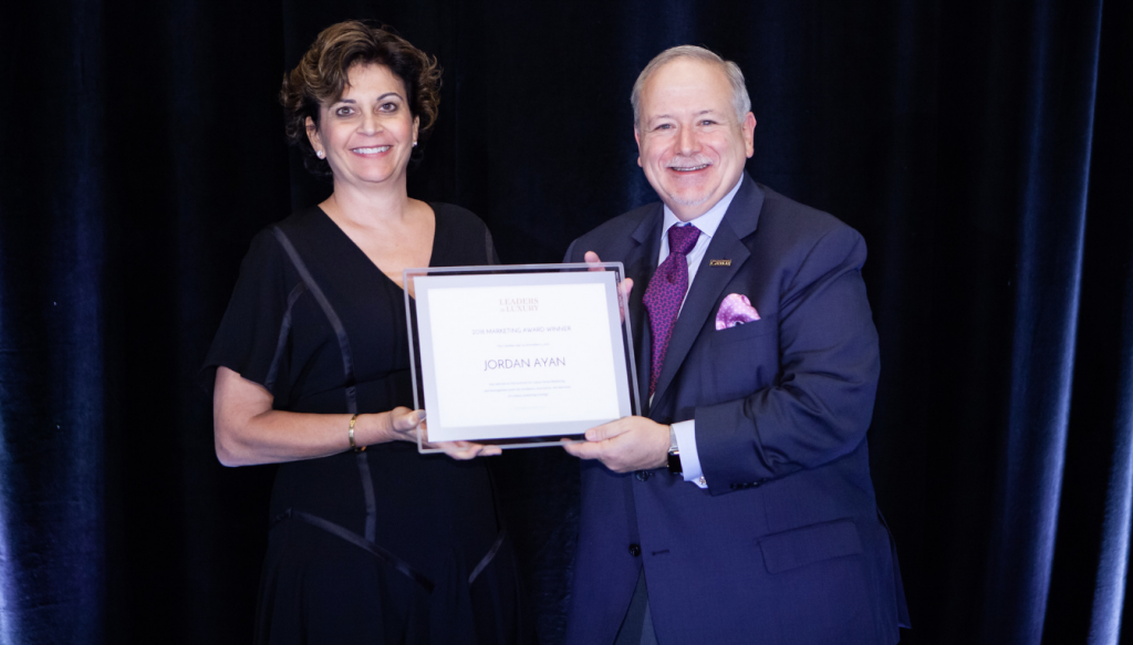 The Lifestyle Collection Awarded Prestigious Luxury Marketing Award for Excellence