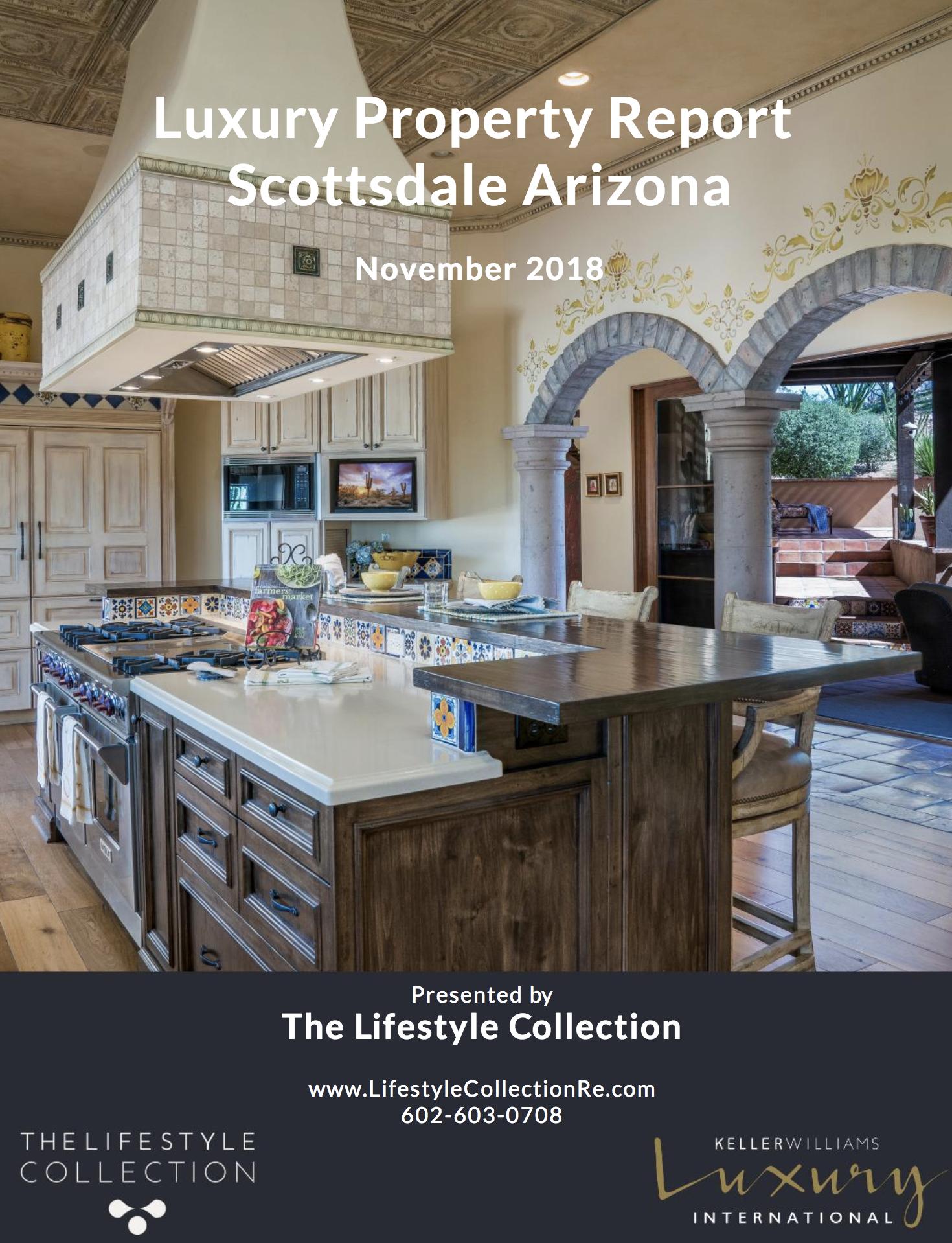 Scottsdale Luxury Property Report for November 2018