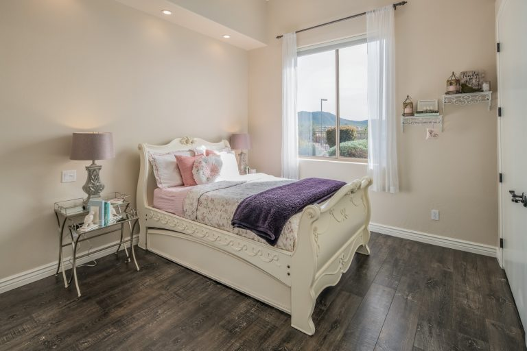 Guest bedroom in North Scottsdale