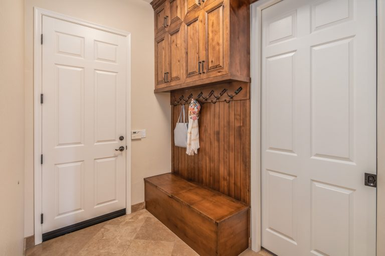 Convenient mud room off garage entry and next to laundry room