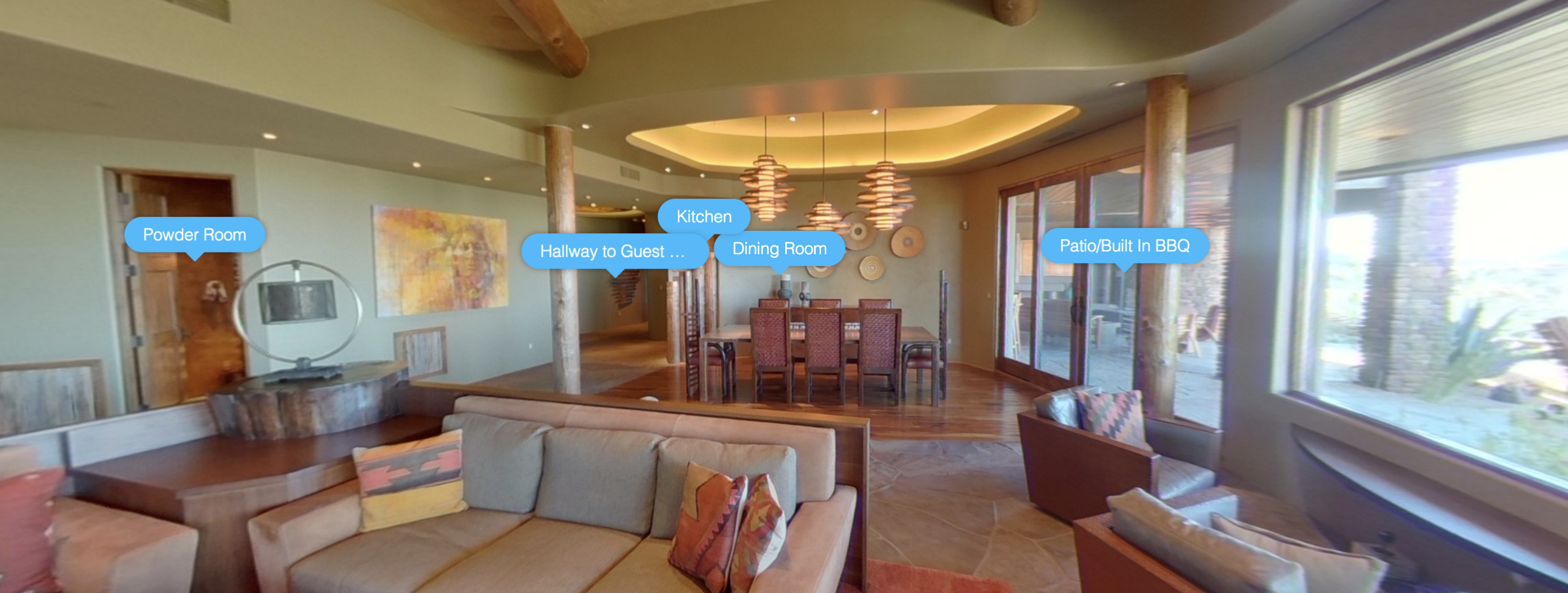 360 degree photo of real estate in North Scottsdale