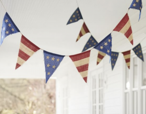 bunting for your Scottsdale home from Pottery Barn