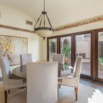 Dining room in North Scottsdale