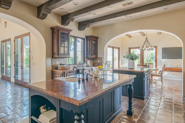Natural light filled kitchen in North Scottsdale