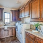 Spacious laundry room in North Scottsdale
