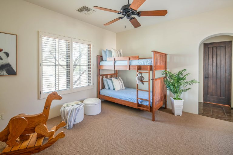 Guest bedroom in North Scottsdale