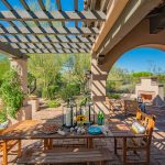 Covered patio in North Scottsdale