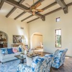 Open concept great room in North Scottsdale