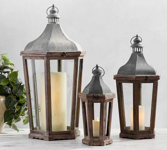 Lanterns for fall decor
