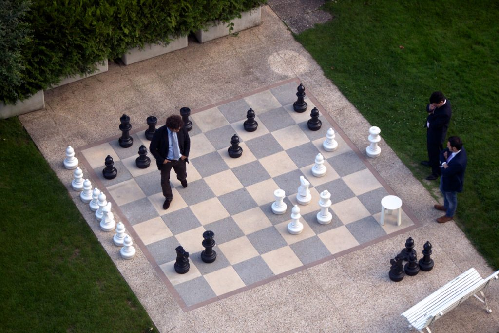 This is a giant chess board - they type they have where DC Ranch homes are for sale