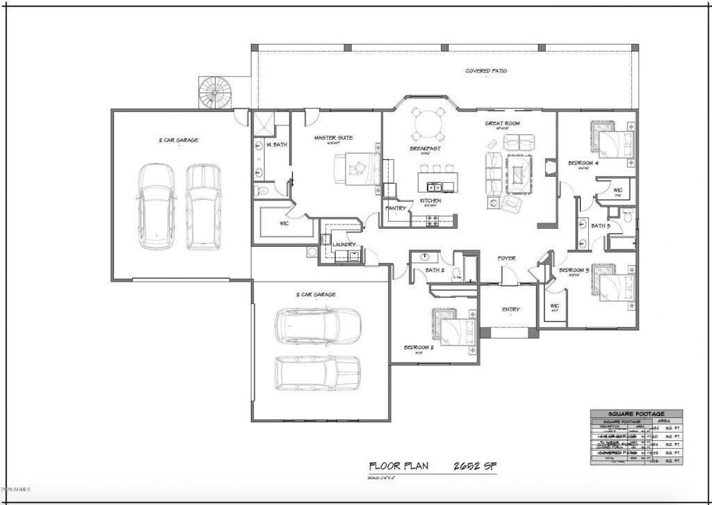 Scottsdale home for sale - floorplan