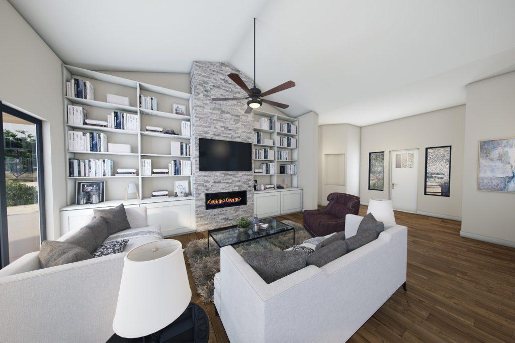Living room in Scottsdale Arizona Home for sale