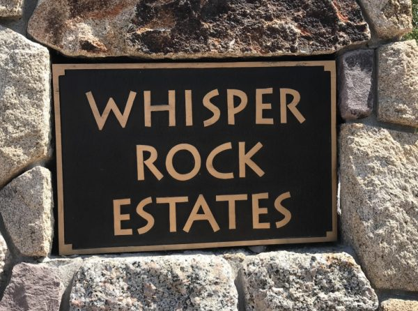 WHISPER ROCK LOTS FOR SALE