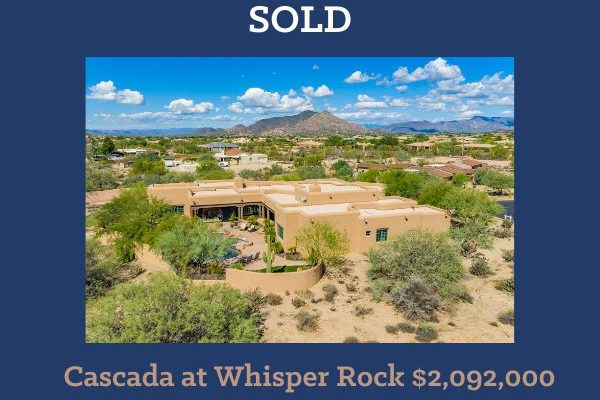Whisper Rock Real Estate Update