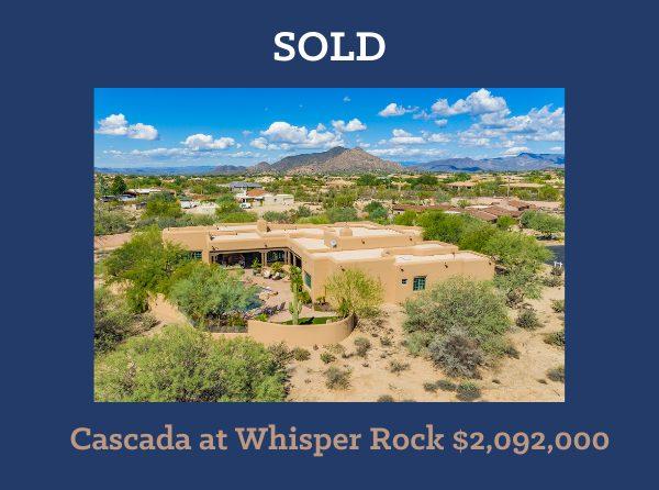 Whisper Rock Home Sale